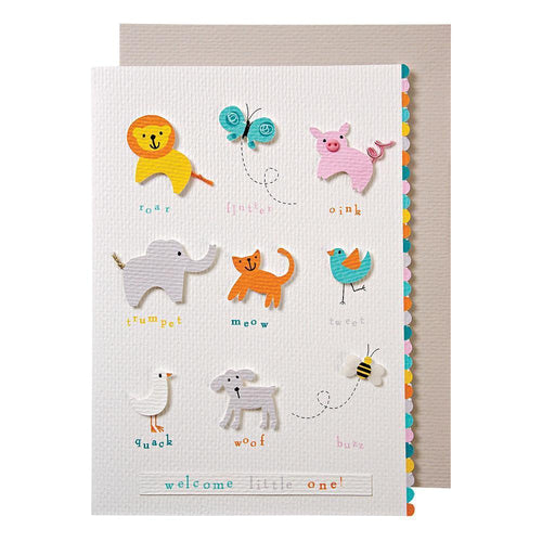 Meri Meri Animals Congratulations Card