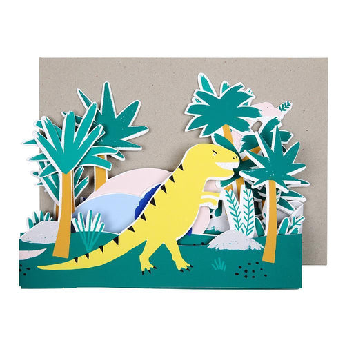 Kids Birthday Card Dinosaur Meri Meri