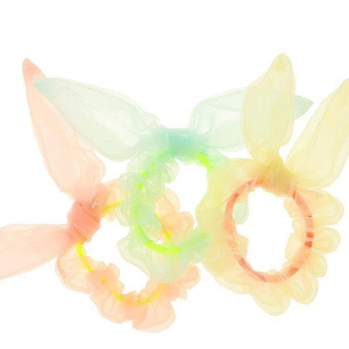 Girls Hair Scrunchies Bunny Ears Meri Meri