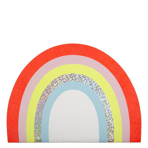 bright rainbow sketch book