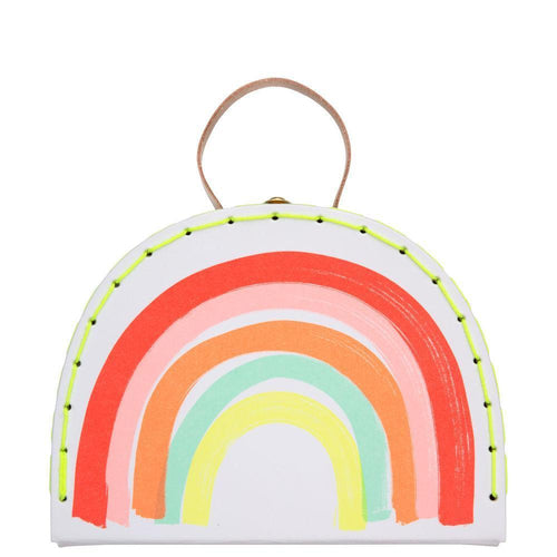 Meri Meri colorful rainbow mini suitcase for kids