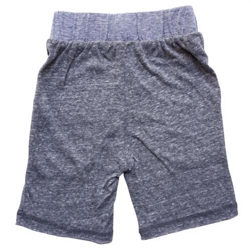Grey and blue boy shorts back view
