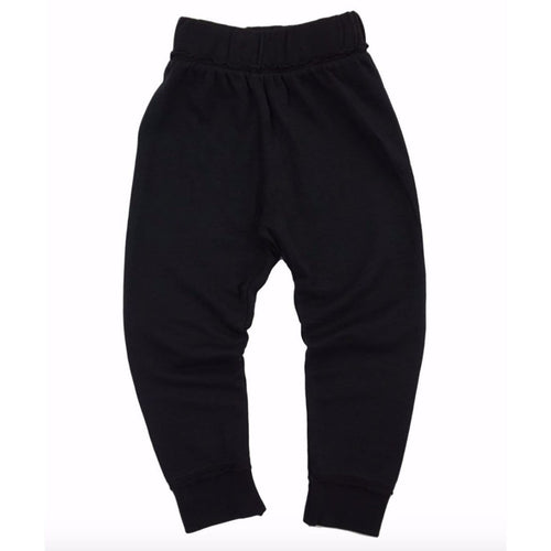 Miki Miette black jogger boys sweatpants