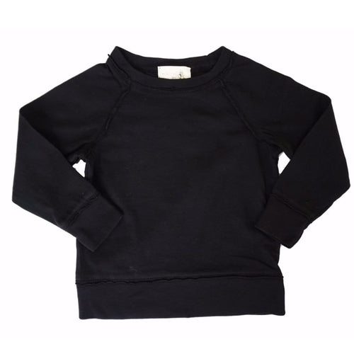 Miki Miette black kids sweatshirt for boy or girl