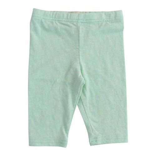Soft aqua capri girls leggings
