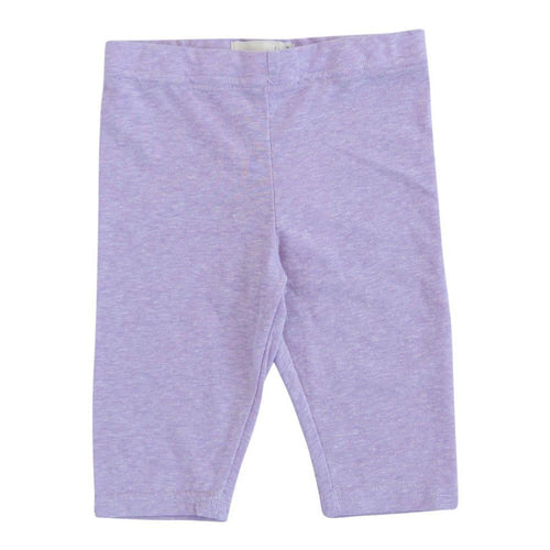Light purple girl's capri leggings