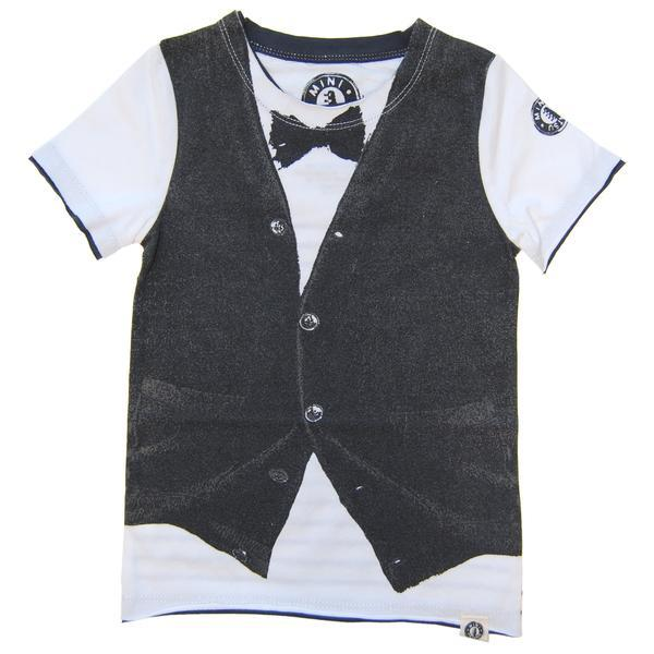 Boys tee with faux vest and bow tie tee | Cool Clothes for Boys