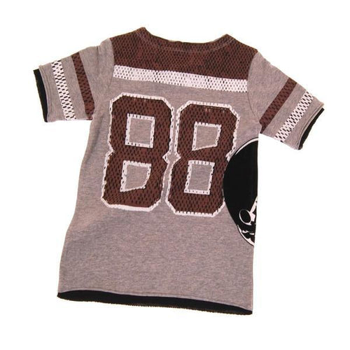 Back of boys' football jersey tee | Cool Clothes for Boys