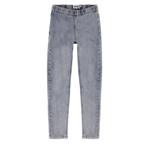 Molo grey denim girls skinny jeans