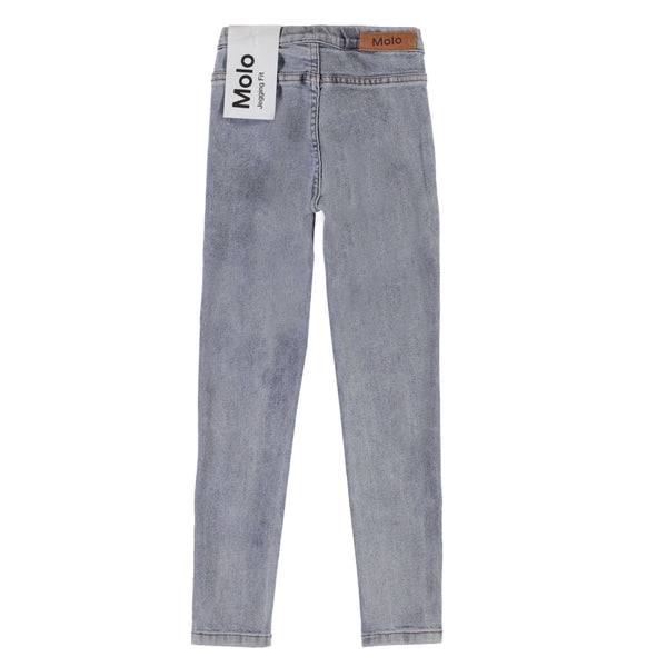 Molo grey denim girls skinny jeggings