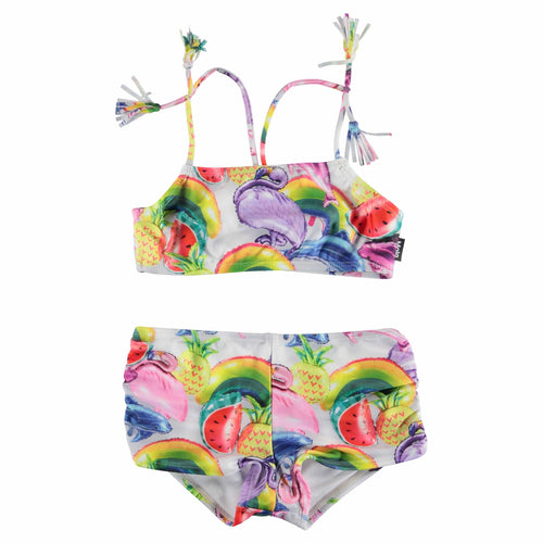 Molo Kids balloon print toddler and girls bikini