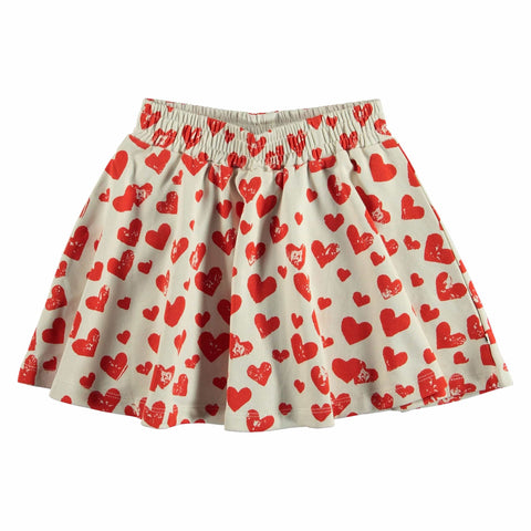 Molo Love Is All Barbera Girls Skirt