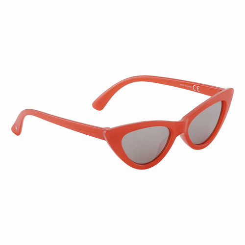 Molo Kids red cat eye girls sunglasses