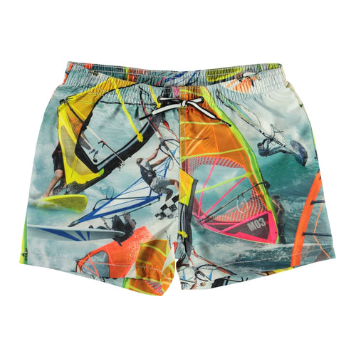 Molo windsurfer boys swim trunks