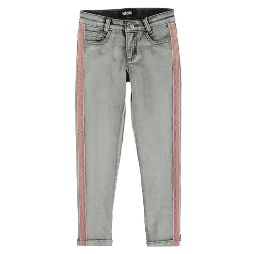 Molo kids grey skinny girls jeans