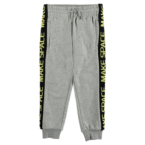 Molo kids grey baggy knit boys sweatpants