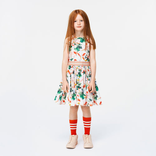 Molo Kids twirl fish print girls dress