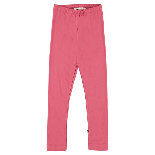 Molo pink full length girls leggings