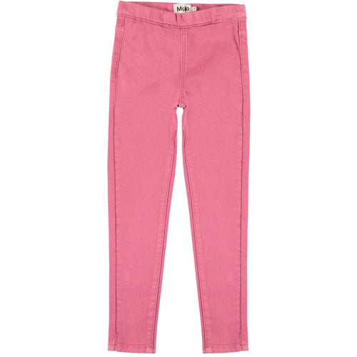 Molo pink skinny girls jeggings