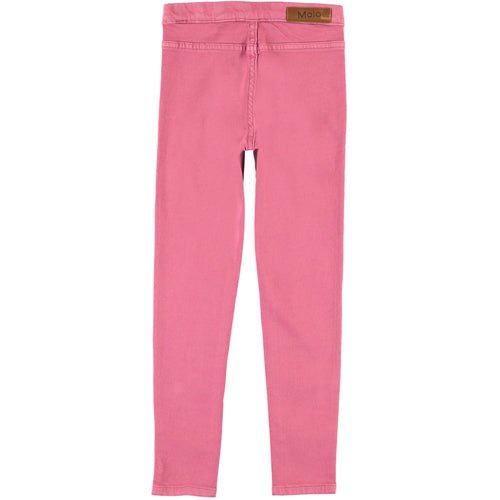 Molo pink skinny girls denim leggings