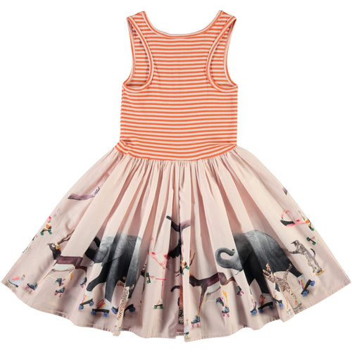 Molo roller skate sleeveless girls dress