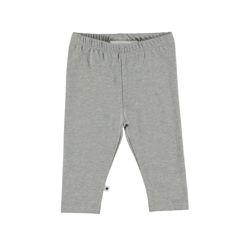 Molo grey jersey baby girl leggings