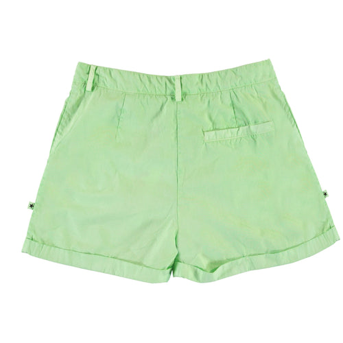 Molo mint green twill girls shorts