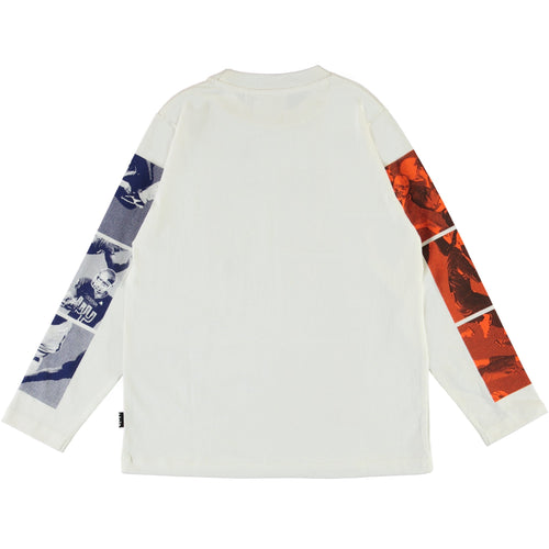 Molo football long sleeve boys tee