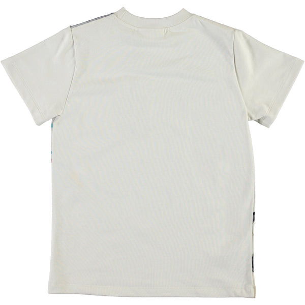Molo soccer ball short sleeve boys tee