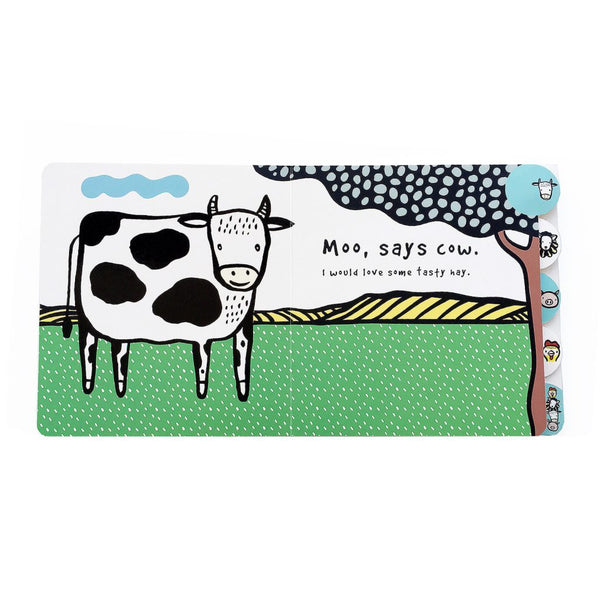 Moo, Cluck, Baa board book