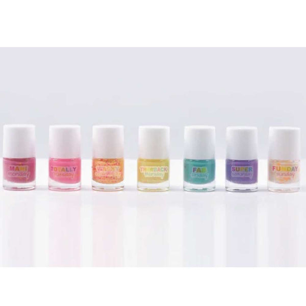 iScream Days of the Week Confetti Nail Polish Set