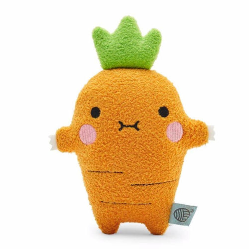 Noodoll carrot stuffed animal for baby and toddler