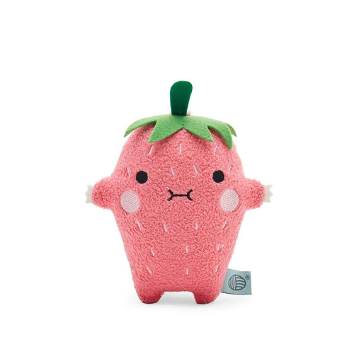 Noodoll strawberry plush mini stuffed animal for toddler and baby