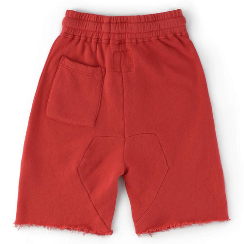 Nununu red jersey boys shorts