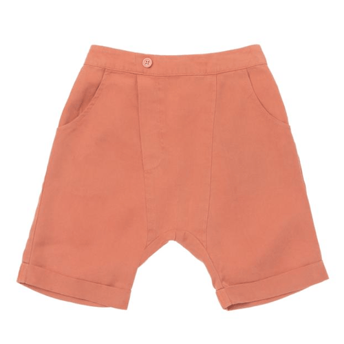 Omamimini rust denim boys shorts