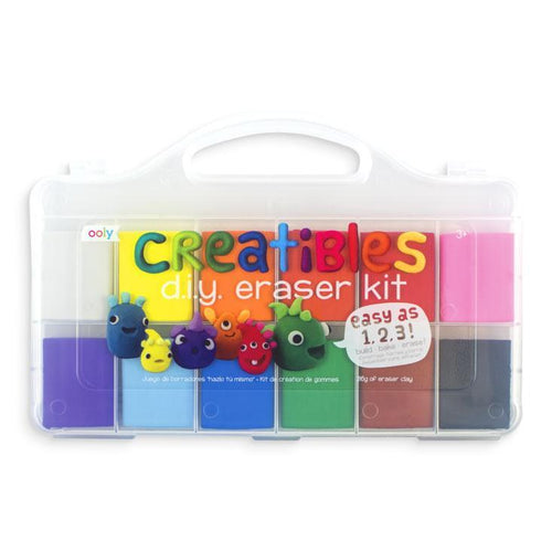 Ooly creative DIY eraser set