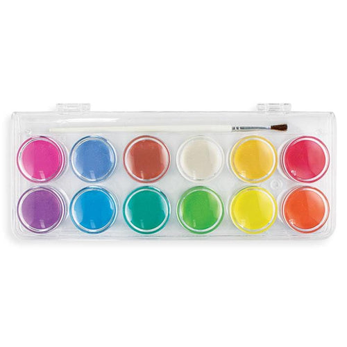 Ooly chroma bright color pearlescent watercolor paint set
