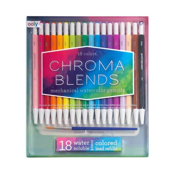 Mechanical Watercolor Pencils Chroma Blends by Ooly