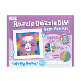 Lovely Llama DIY Gem Art Razzle Dazzle Kit by Ooly