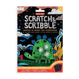 Mini Scratch & Scribble Dino Days Art Kit by Ooly