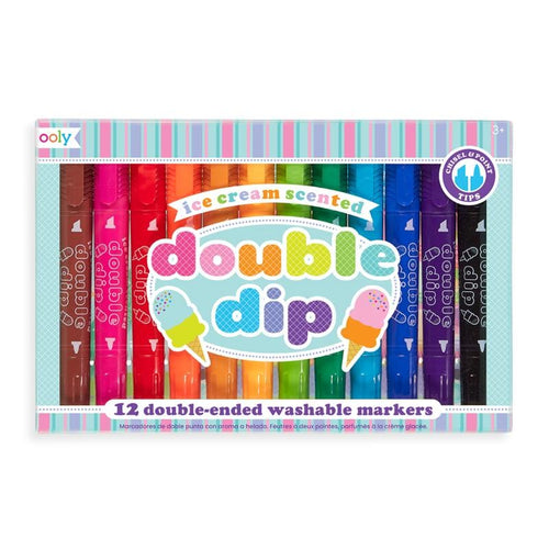 Ooly Double Sided Markers Ice Cream Scented for Kids