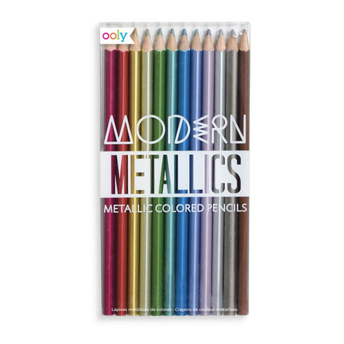 Ooly Kids Metallic Colored Pencils