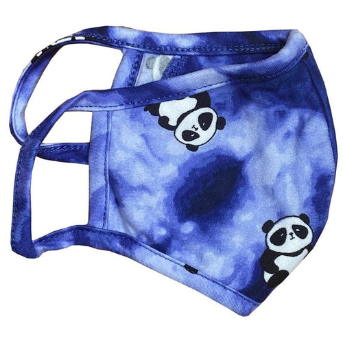Stoopher Panda Tie Dye Purple Child or Tween Mask