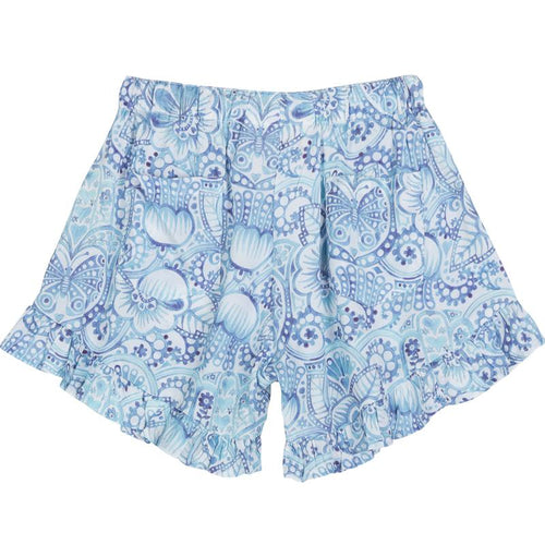 Eastern Butterfly High Waisted Shorts by Paper Wings - Little Skye Children's Boutique