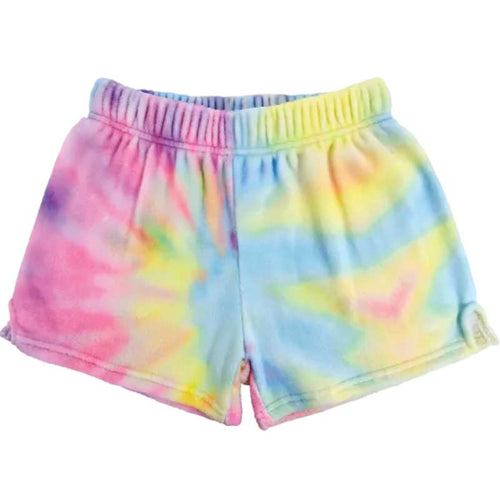 iScream Pastel Tie Dye Plush Girls Shorts