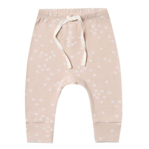 Quincy Mae organic pink baby girl pants