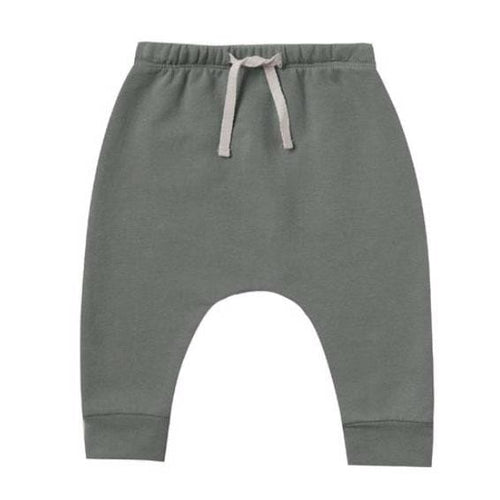 Quincy mae green drawstring baby pants