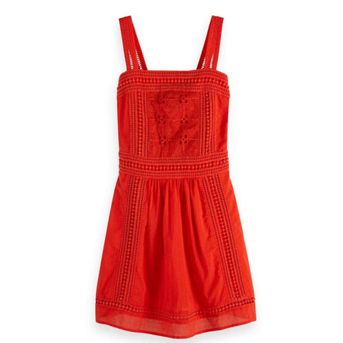 Scotch R'Belle Red Anglaise Girls Dress