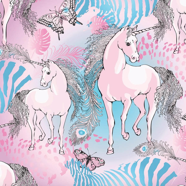 Rock your baby unicorn print jersey dress for baby girls