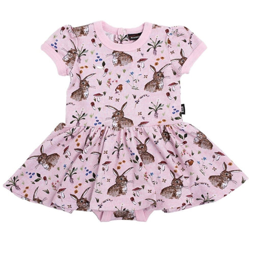 Baby Girl Pink Bunny Dress Rock Your Baby